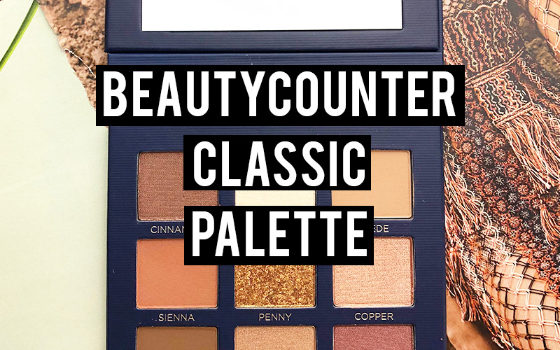beautycounter classic palette