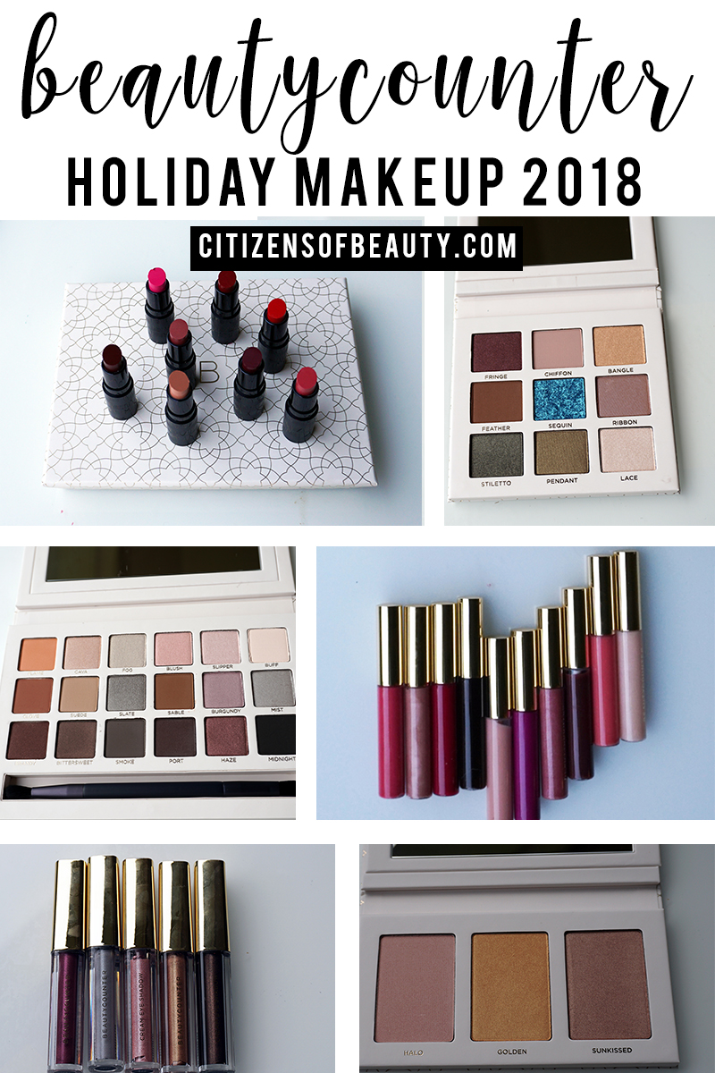 Beautycounter has out done themselves with their holiday 2018 makeup and skincare sets! Check out the best sets with makeup artist and beauty blogger, Kendra Stanton