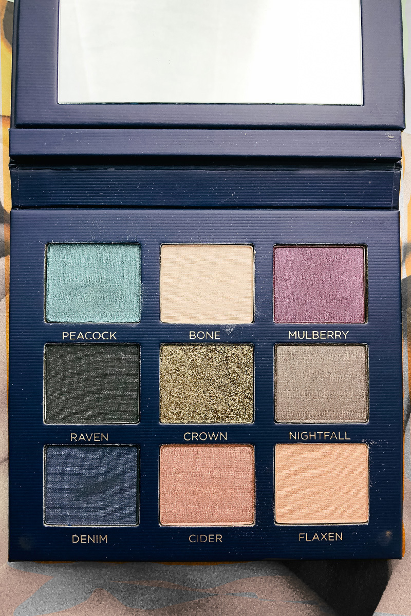 beautycounter velvet eyeshadow palette statement safe beauty review and swatches