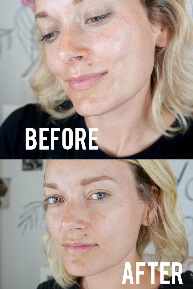 Check out the new beautycounter overnight resurfacing serum and learn how to get bright glowing skin quick. Plus, this new peel is completely safe to use!