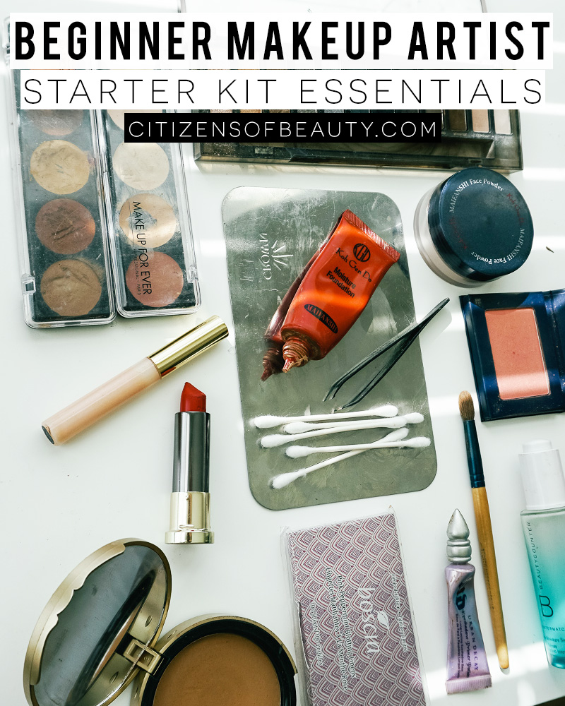 Get this beginner makeup artist kit guide with everything you need to know about what you should have for your career with Austin, TX Makeup Artist, and blogger, Kendra Stanton.