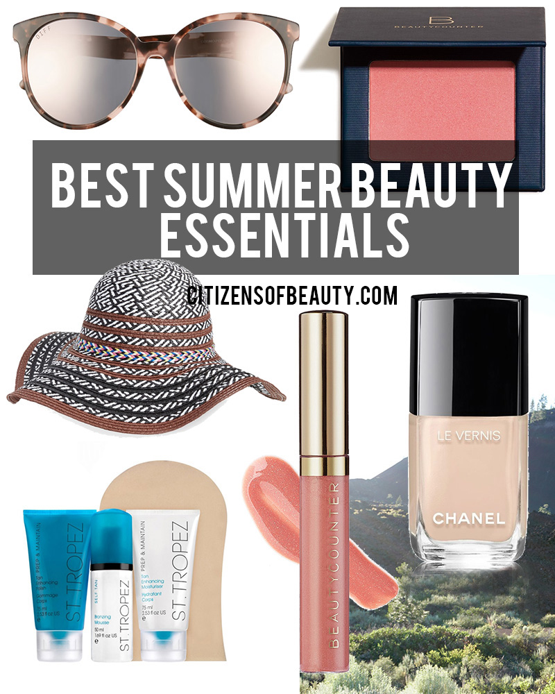 best summer beauty essentials by Austin Beauty Blogger Kendra Stanton