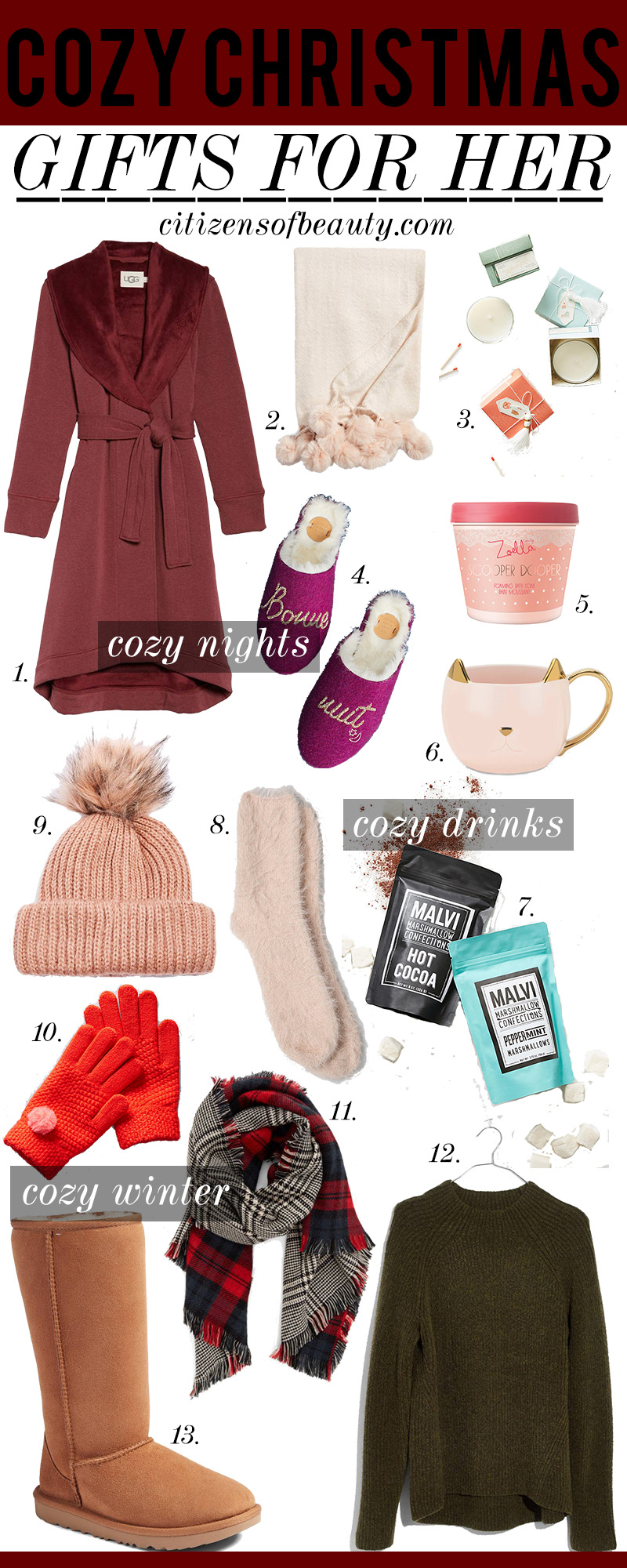 Most Wanted Cozy Christmas Gifts For Her Citizens Of Beauty