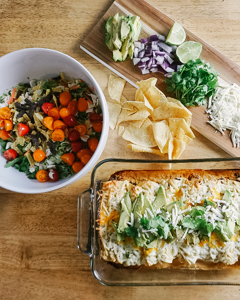 These chipotle Infused Butternut Squash Chorizo Enchilada's are so yummy and tasty they will blow you away! Get the recipe with beauty and lifestyle blogger, Kendra Stanton.