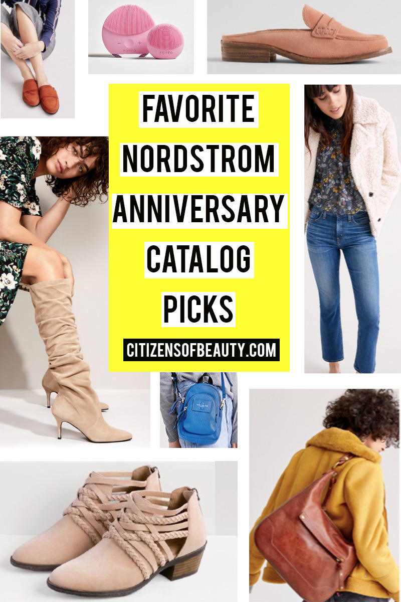 favorite Nordstrom Anniversary Sale 2018 Catalog picks