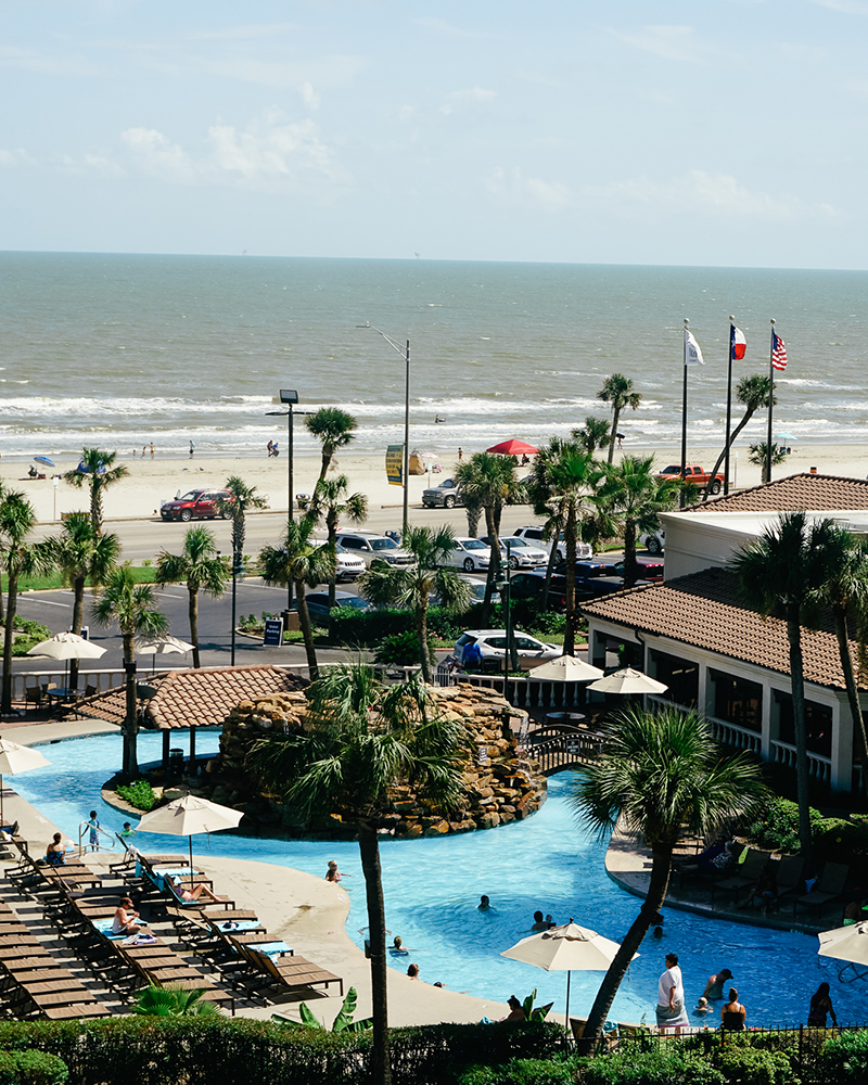 galveston, TX Hilton resort review