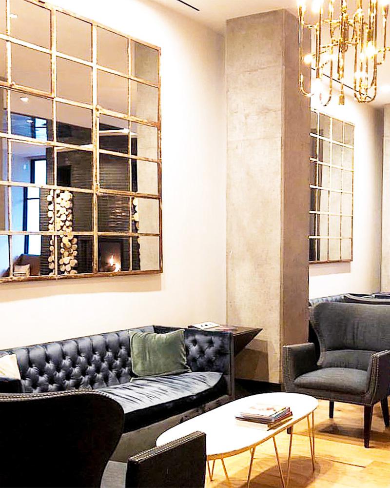 hotel van zandt lobby