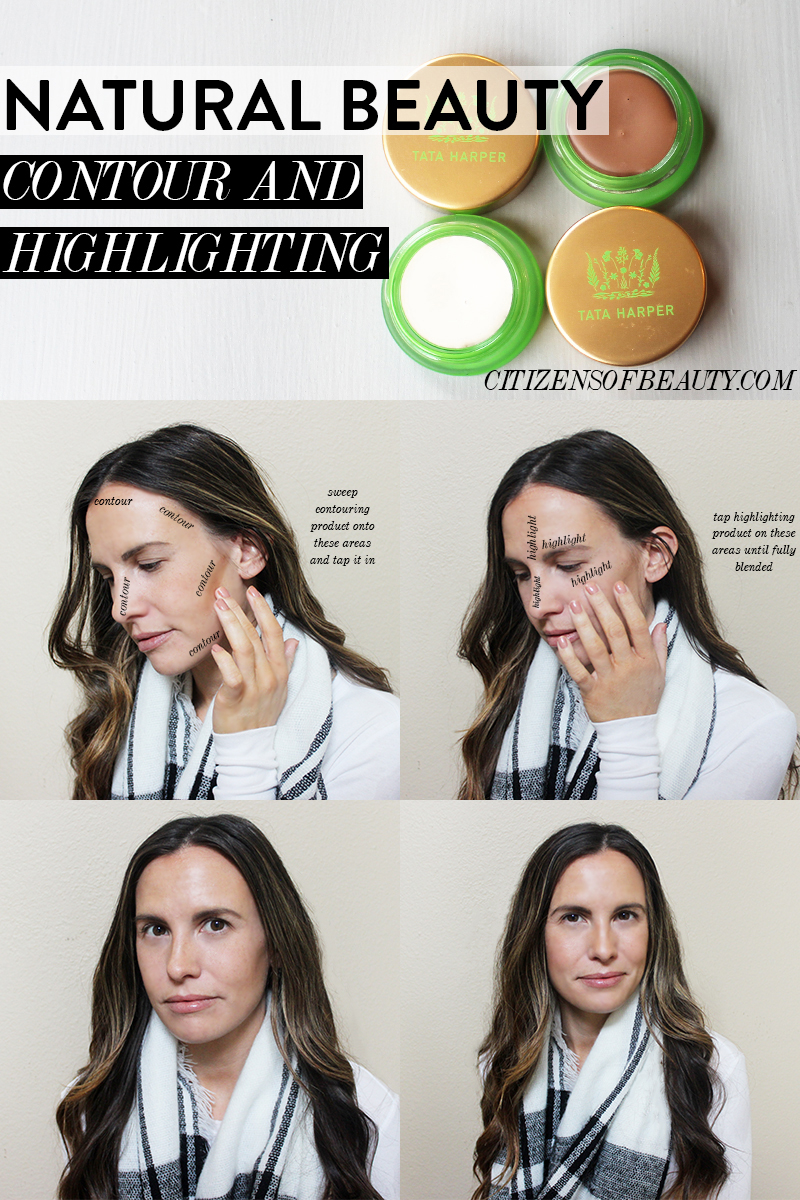natural girls guide to highlighting and contouring