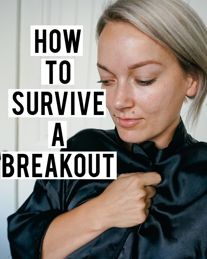 learn how to survive a breakout with Austin, TX beauty blogger, Kendra Stanton