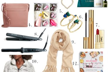 Get Luxury holiday gifts for her all under $100 like la mer, free people, YSL and more with Beauty and Lifestyle Blogger, Kendra Stanton