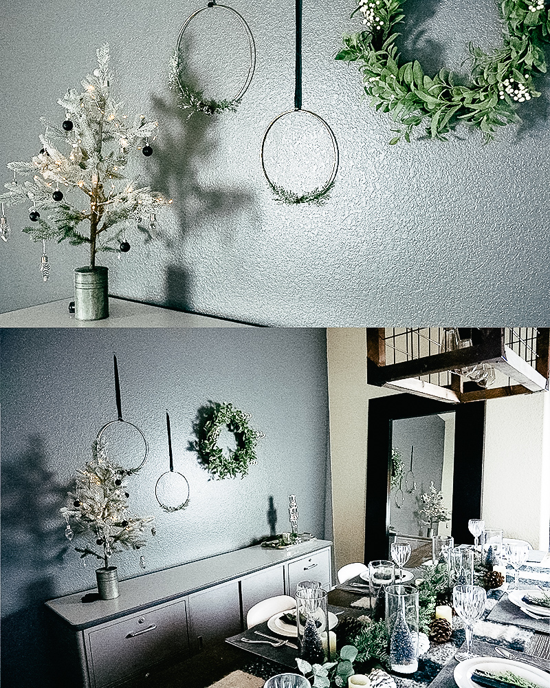 Mid Century Dining Room: Mid-Century Modern Christmas Dining Room Decor