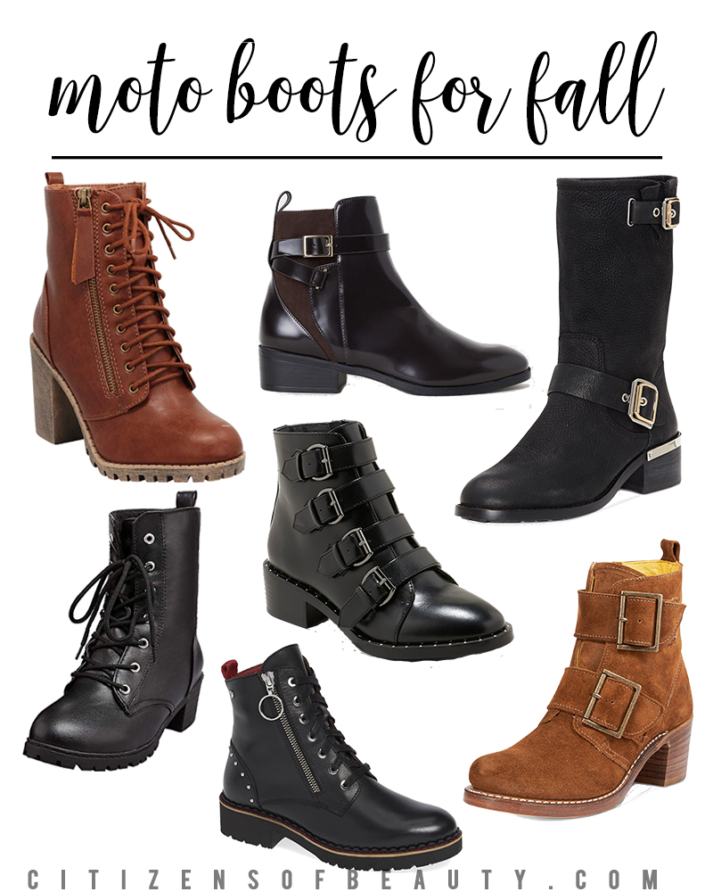 Get these popular moto boot styles from your favorite shops like Nordstrom, Macy's, Amazon, Target and more. Find them in every price range from designer to bargain.