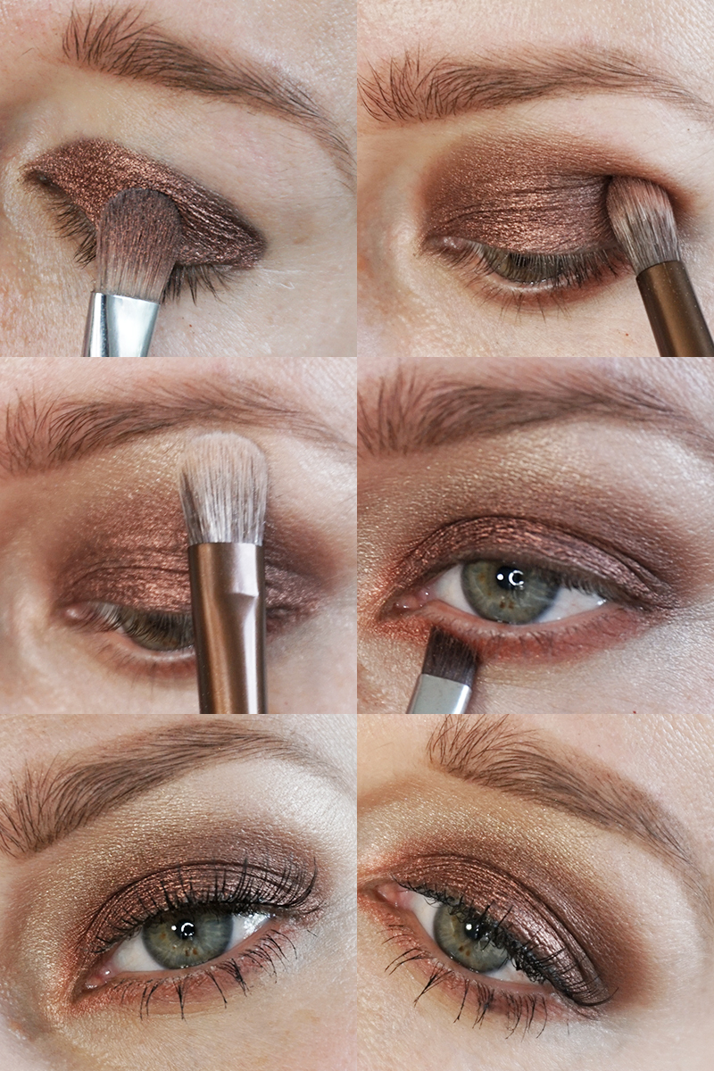 Makeup tutorial urban decay naked heat palette citizens of beauty naked heat palette makeup tutorial with green eyes and warm eyeshadow colors baditri Image collections