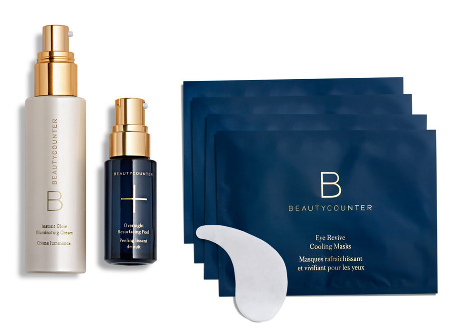Beautycounter Holiday 2018 Night Resurfacing Peel skincare Set