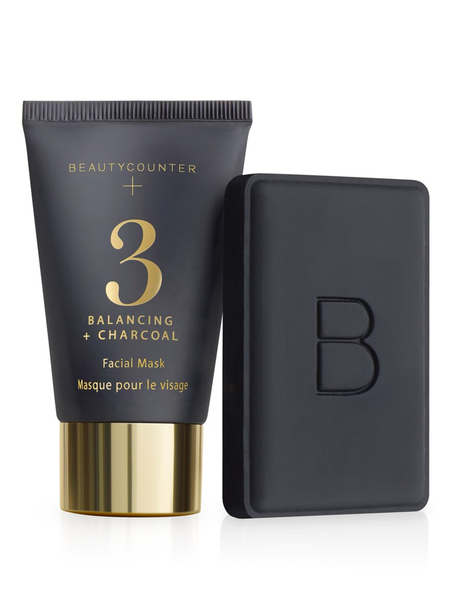 Beautycounter Holiday Charcoal Essentials set