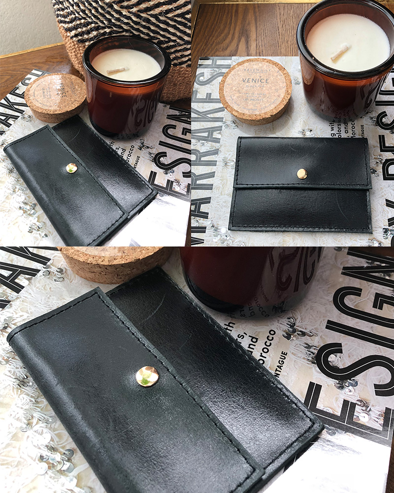 raven and lily ethical black wallet
