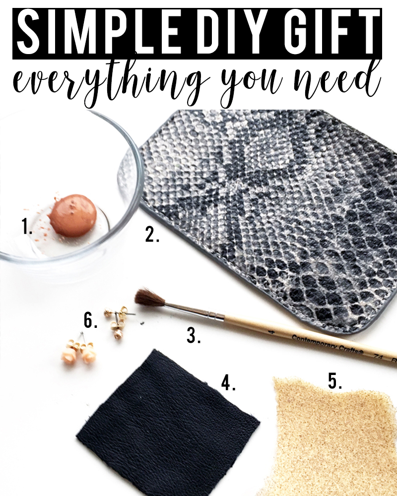 simple DIY Earring Set that looks expensive and everything you need