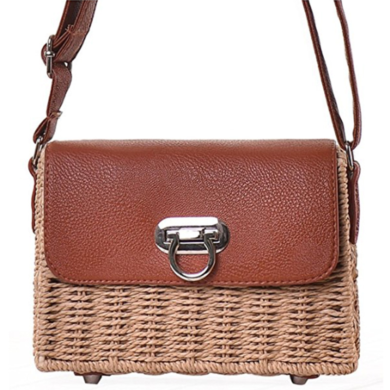 small woven crossbody bag thats perfect for the beach