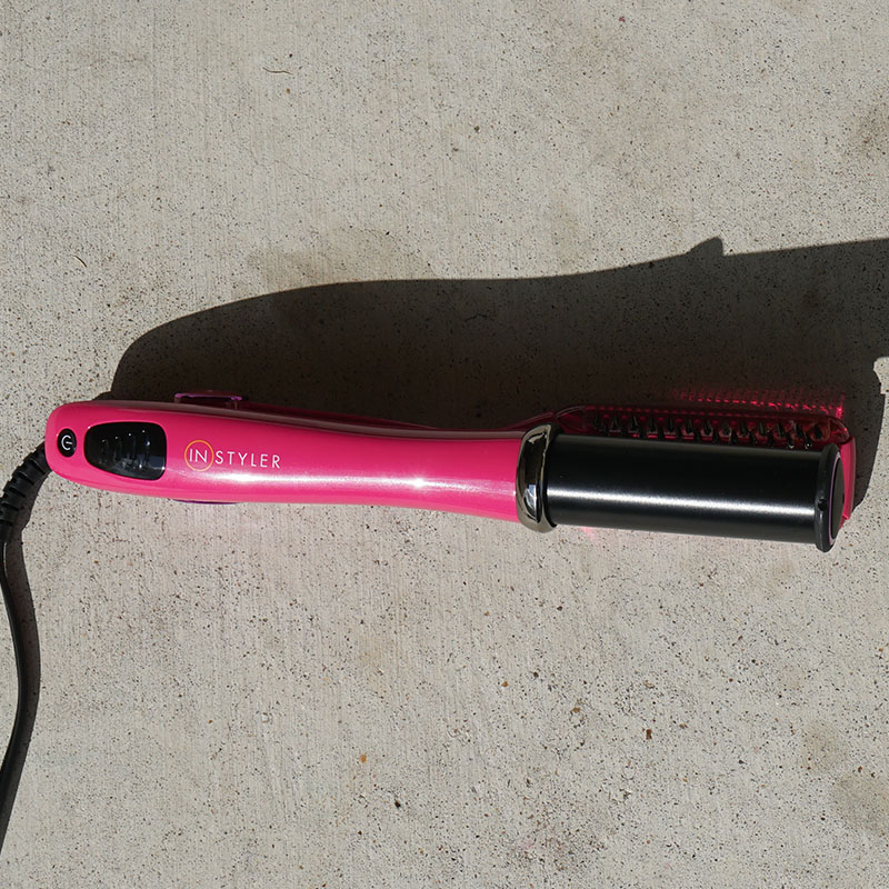 Get sleek hair in minutes with the instyler