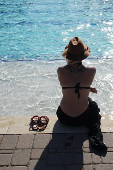 Tips and Tricks and being confident in your mom body bathing suit