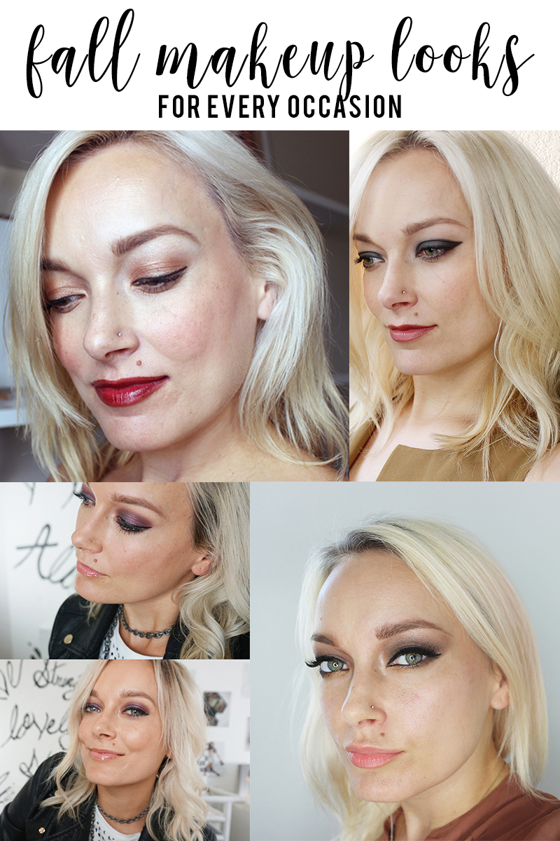 try these fall makeup looks with a step-by-step tutorial with Austin, TX beauty blogger, Kendra Stanton