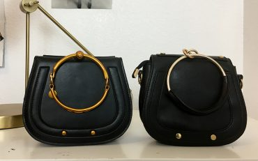 two chloe bag knockoffs that are under one hundred