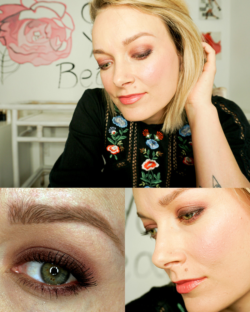 urban decay backtalk makeup look