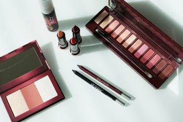 urban decay cherry makeup collection eyeshadow palette, lipsticks, and mroe