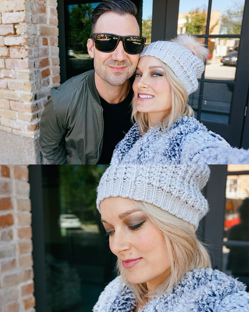 Cute fall winter style from Walmart with beauty and lifestyle blogger, Kendra Stanton
