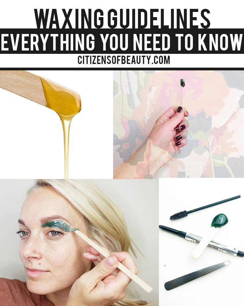 waxing guidelines and everything you need to know