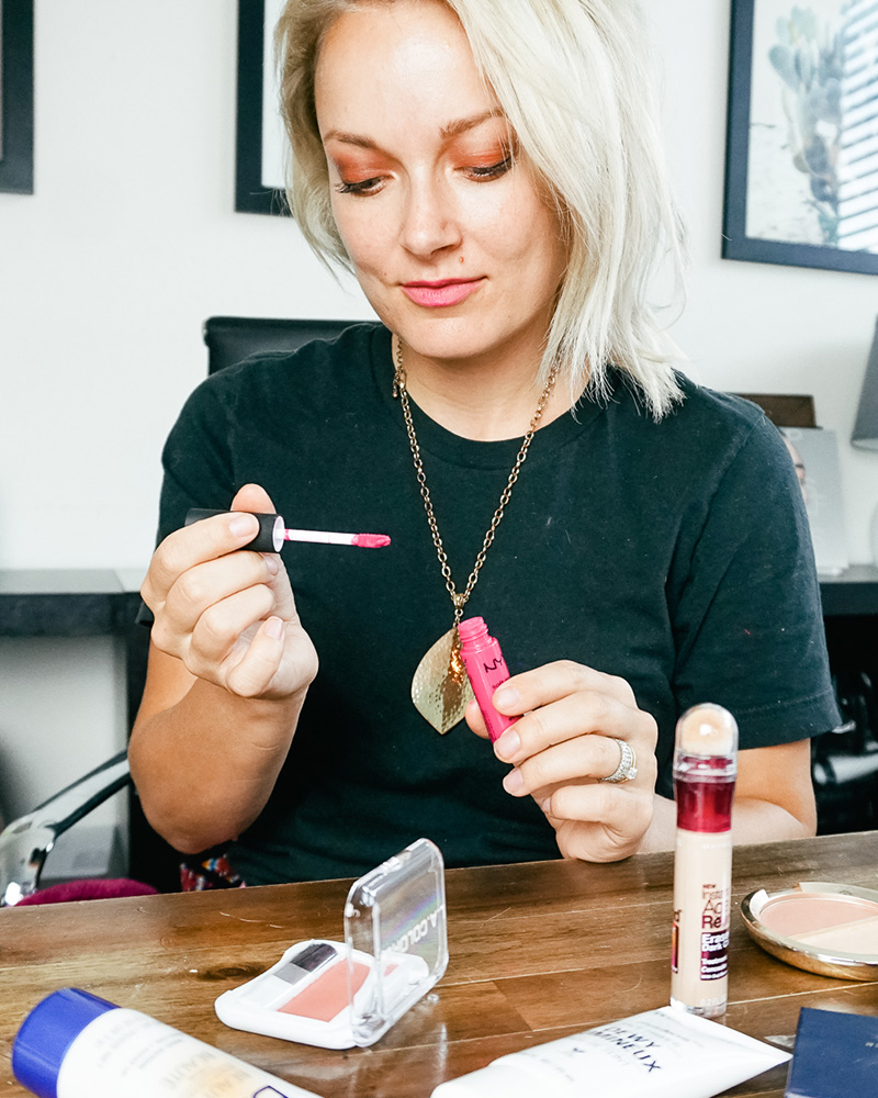 why I choose to wear only high-end cosmetics with good ingredients and not drugstore by Austin, TX Makeup Artist, Kendra Stanton