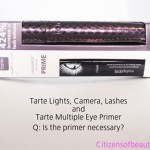 Necessary? Tarte Lights, Camera, Lashes Mascara With Tarte multiplEYE Primer
