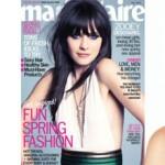 Get the Look: Zooey Deschanel on Marie Claire May 2012