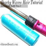 Beachy Waves Hair Tutorial Featuring the NuMe Style Titan3