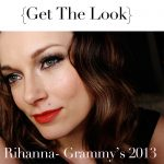 Makeup Tutorial: Rihanna Grammy's 2013