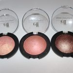 E.L.F $3.00 Baked Eyeshadow Review