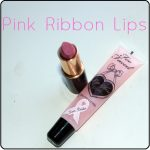 Pink Ribbon Lips: IMAN and Too Faced