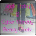 Black Friday and Cyber Monday 2013 Beauty Deals