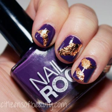 Review of Nail Rock Antique Rose