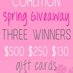 Beauty Blog Coalition MASSIVE Spring Giveaway!