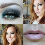 Glamorous Smoky and Neon Blue Eyeshadow Design
