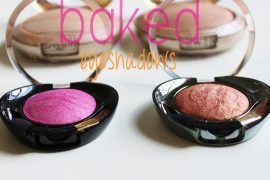 Milani Baked Eyeshadow Review