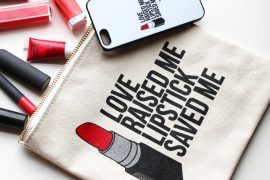 breakups to makeup love raised me lipstick saved me cosmetic bag