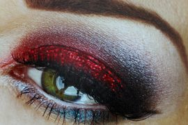 4th of July eye-makeup designs