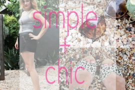 simple and chic summer style