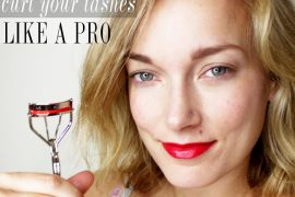 tips on how to curl your eyelashes like a professional