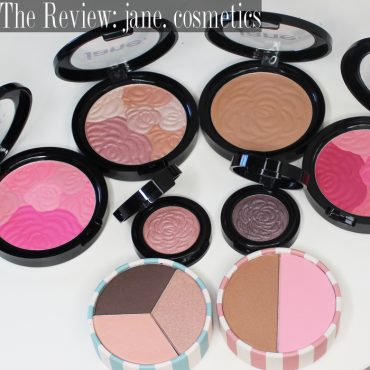 Review of jane Cosmetics