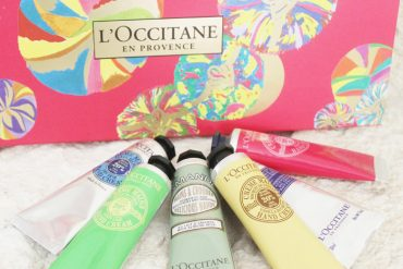 "Hand Cream holiday gift set my L""Occitane"