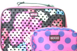 SOHO Cosmetics Bags for packing Cosmetics