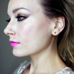 NYE Holiday Sparkle Makeup Look